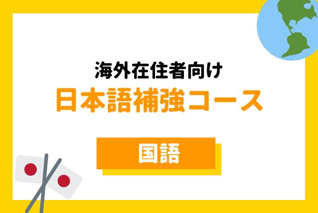 海外在住者の日本語補強レッスン