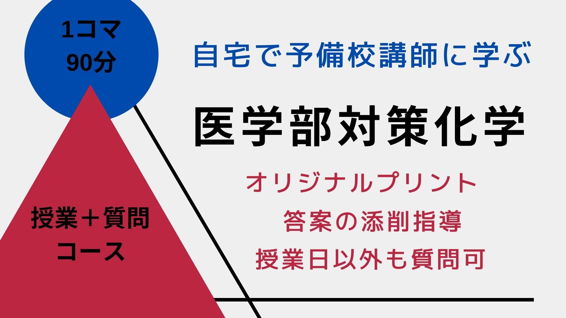 医学部対策化学【授業+質問コース】