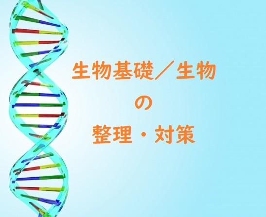 【はじめてから受験まで】高校生物基礎/生物の整理と対策